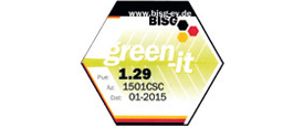 Conect-Online Zertifikat BISG Green IT